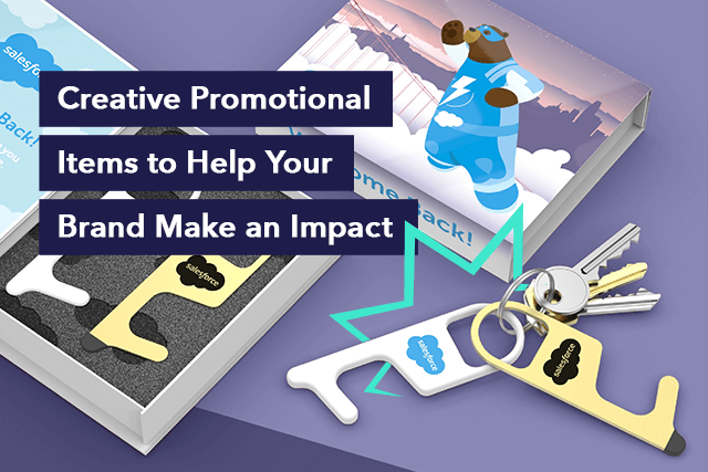Make an Impact With These 10 Creative Promotional Items Creative Promotional Items