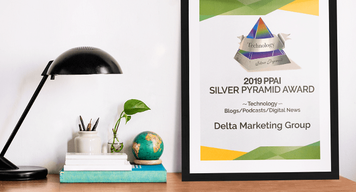 DMG Blog Honored for Excellence at 2019 PPAI Pyramid Awards