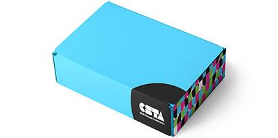 Virtual Event Swag Box Design